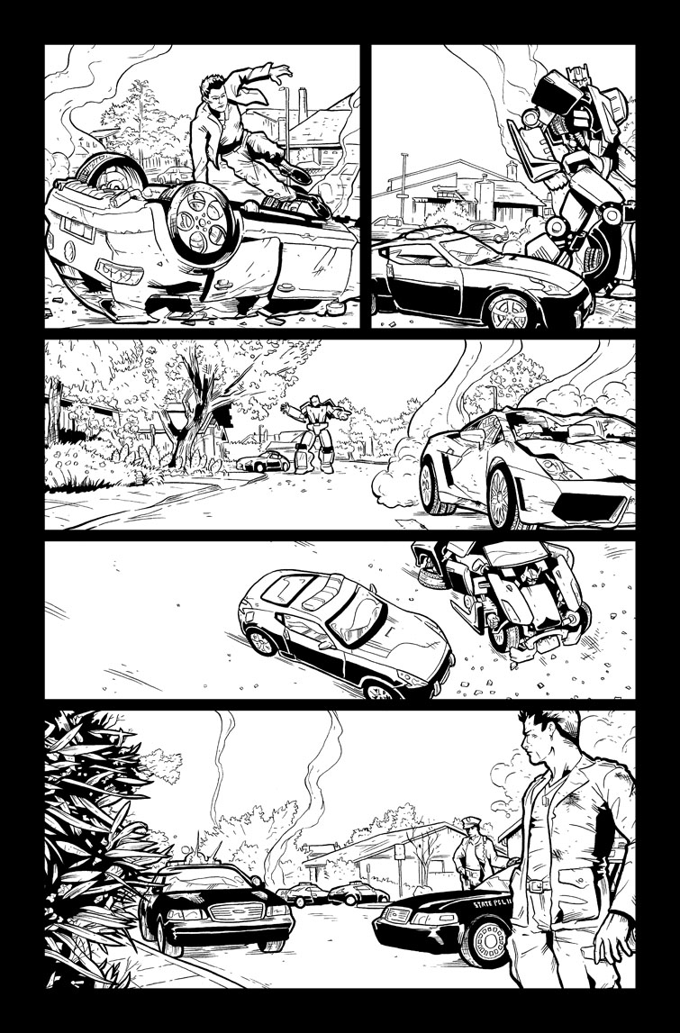 Transformers #25, Page 15<br />$50