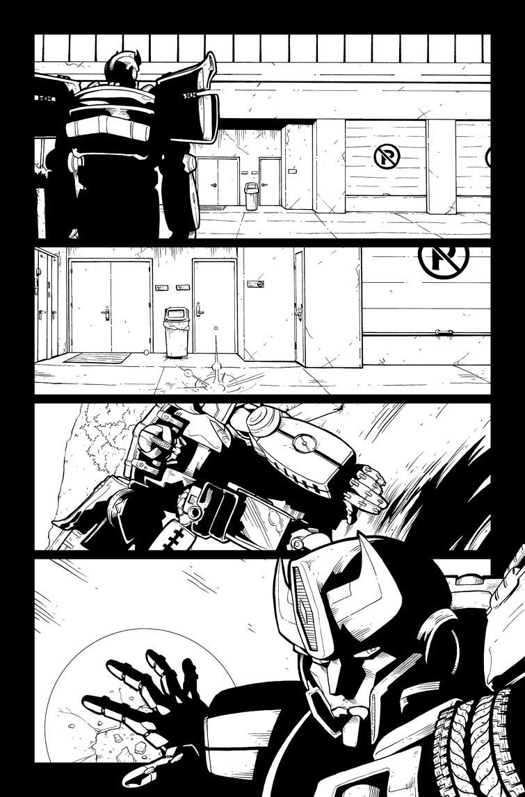 Transformers #25, Page 20<br />$75