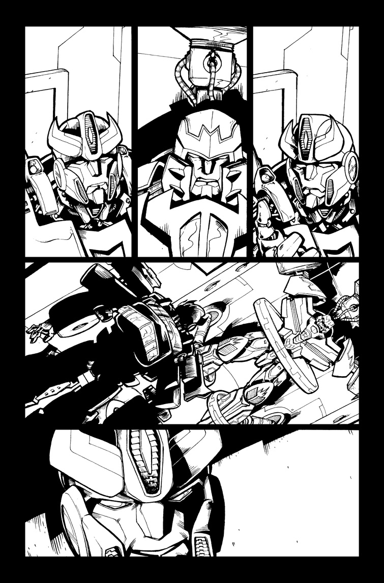 Transformers #21, Page 17<br />$75