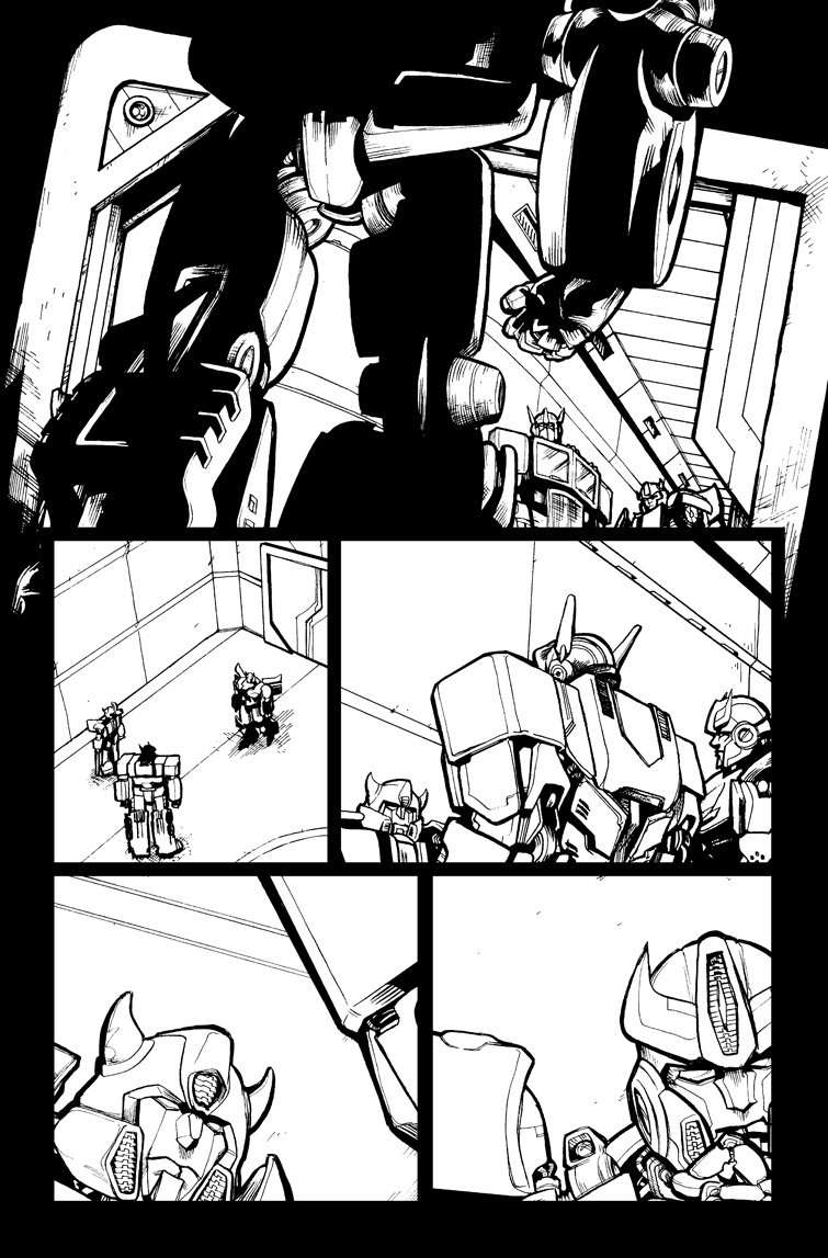 Transformers #21, Page 18<br />$75