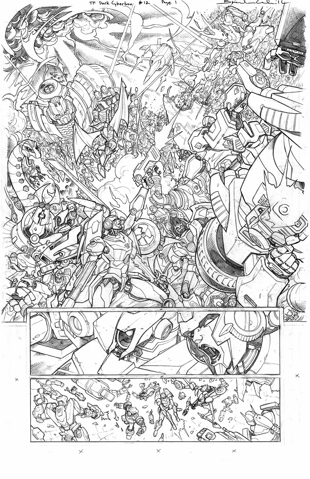 Transformers: Dark Cybertron #12, Page 1