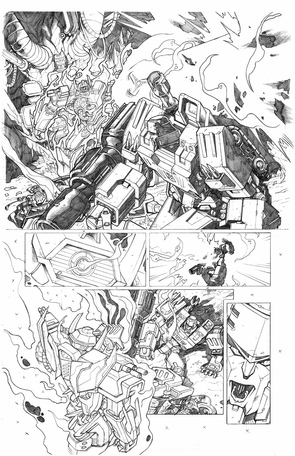 Transformers: Dark Cybertron #12, Page 5