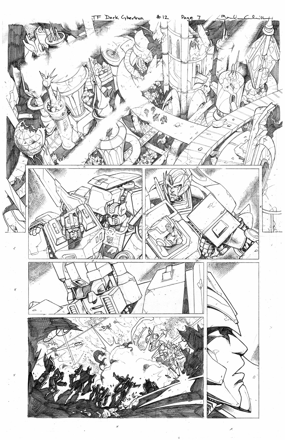 Transformers: Dark Cybertron #12, Page 7