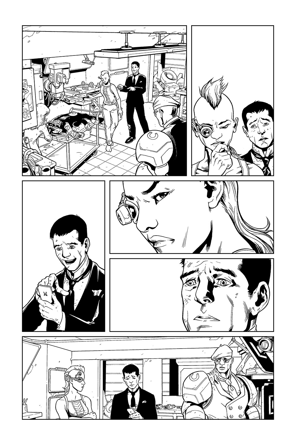 Luc's Inferno #5, Page 3