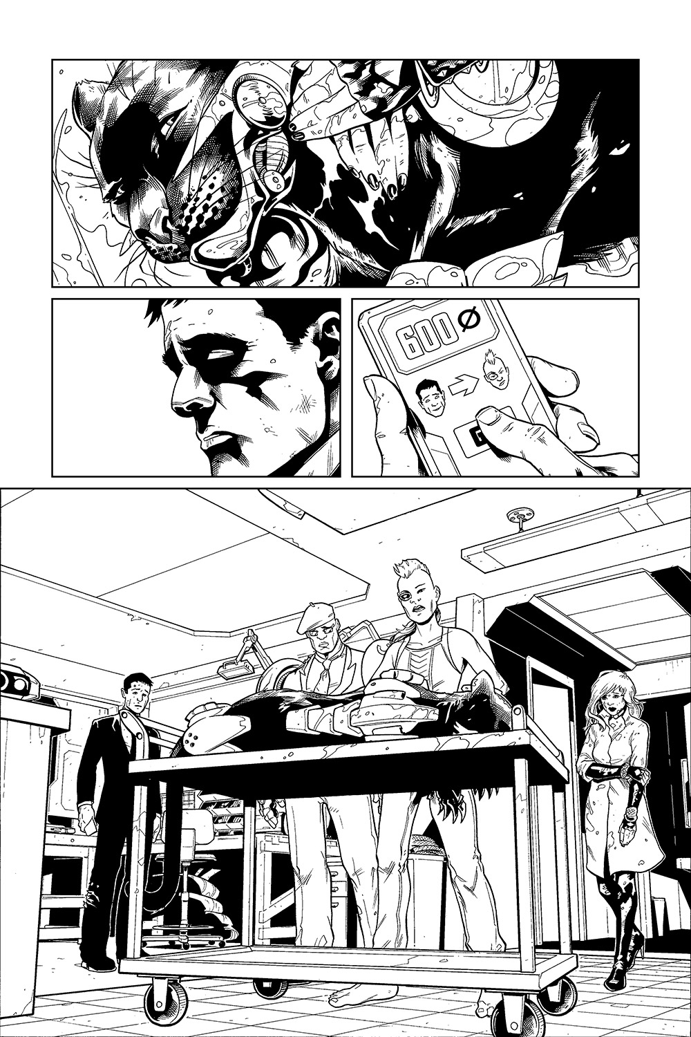 Luc's Inferno #5, Page 4