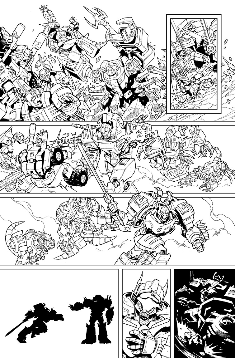 Lost Light #14, Page 14<br />$250