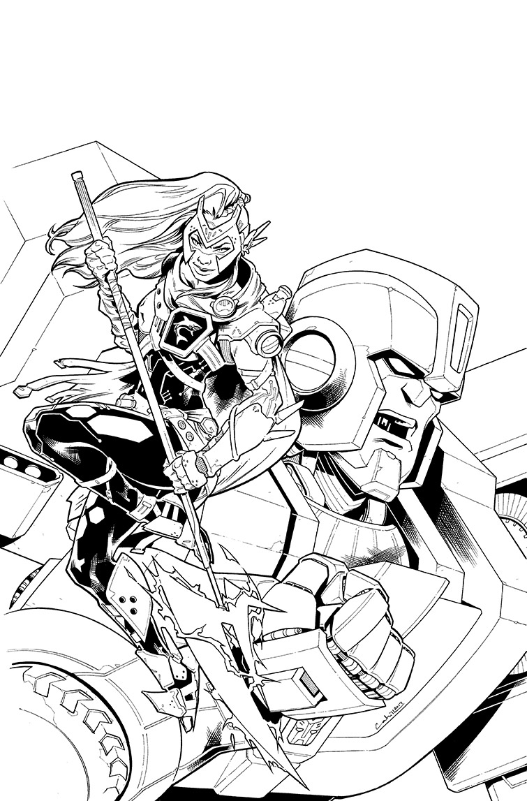 Transformers vs.<br />Visionaries #2, Cover<br />$500