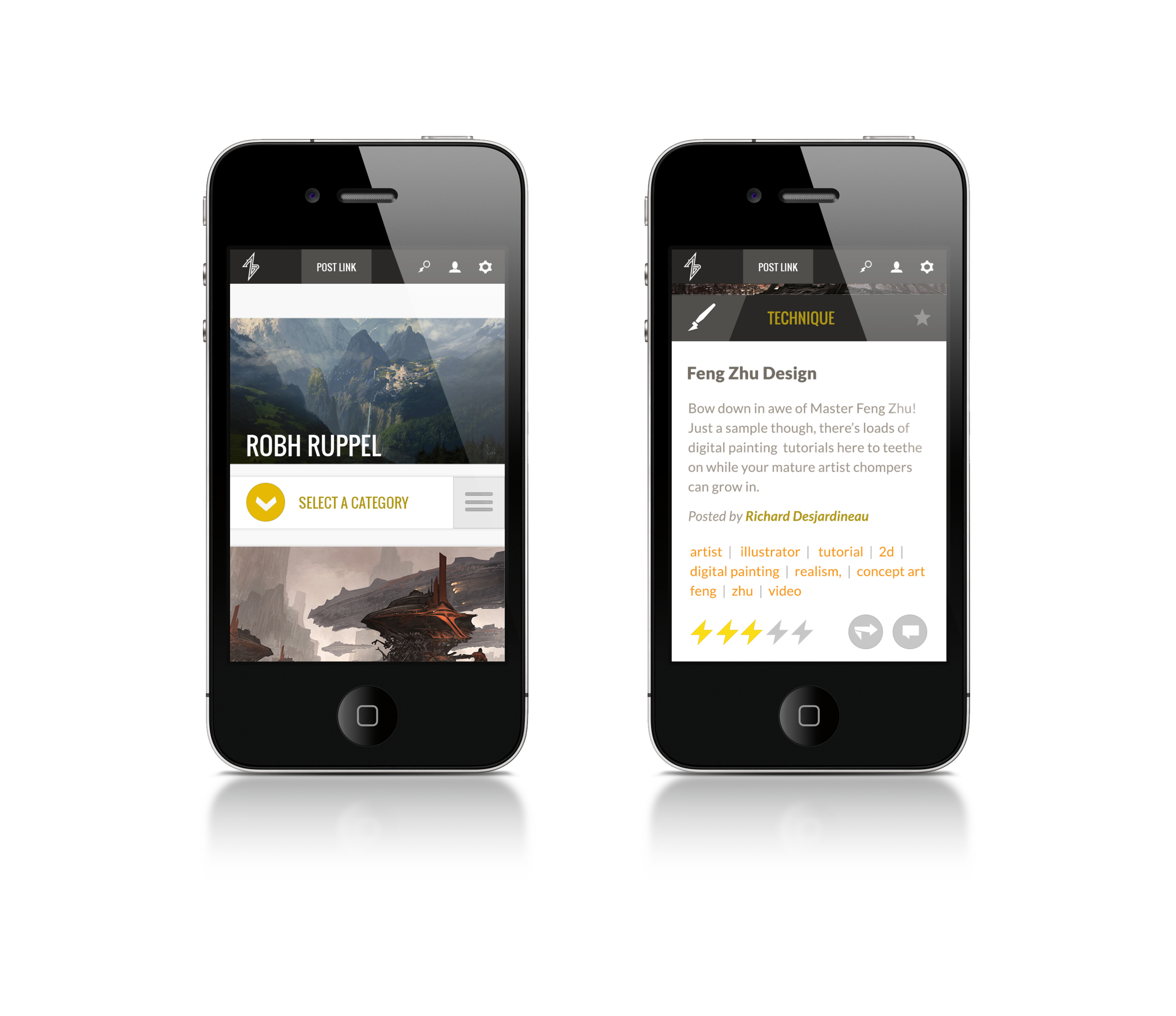 Home Page | Mobile App