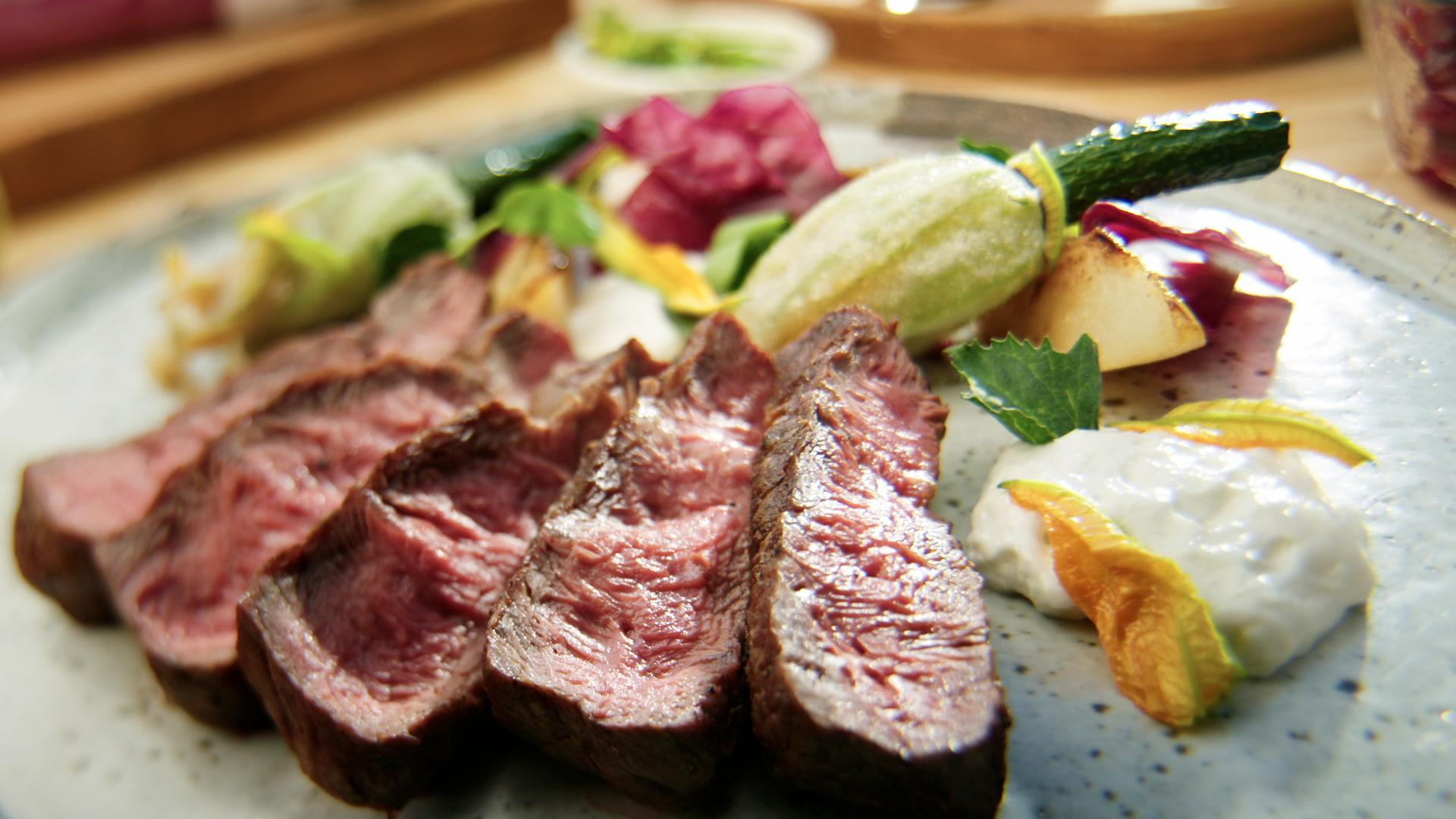 BBQ Flat Iron Steak