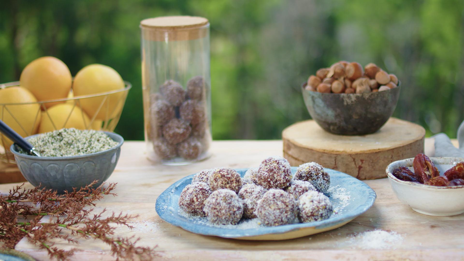 Hemp, Nut and Teff Protein Ball