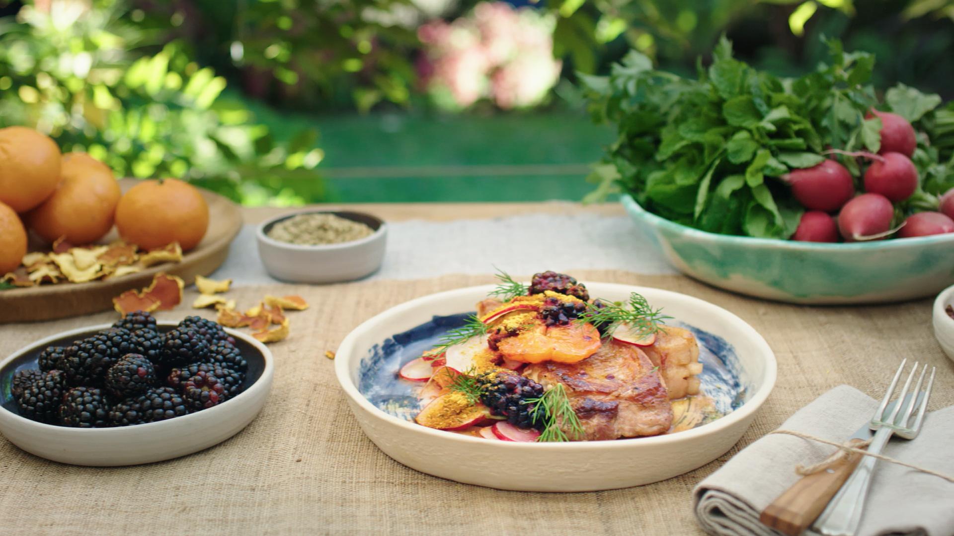 Seared Pork with Szechuan Salt