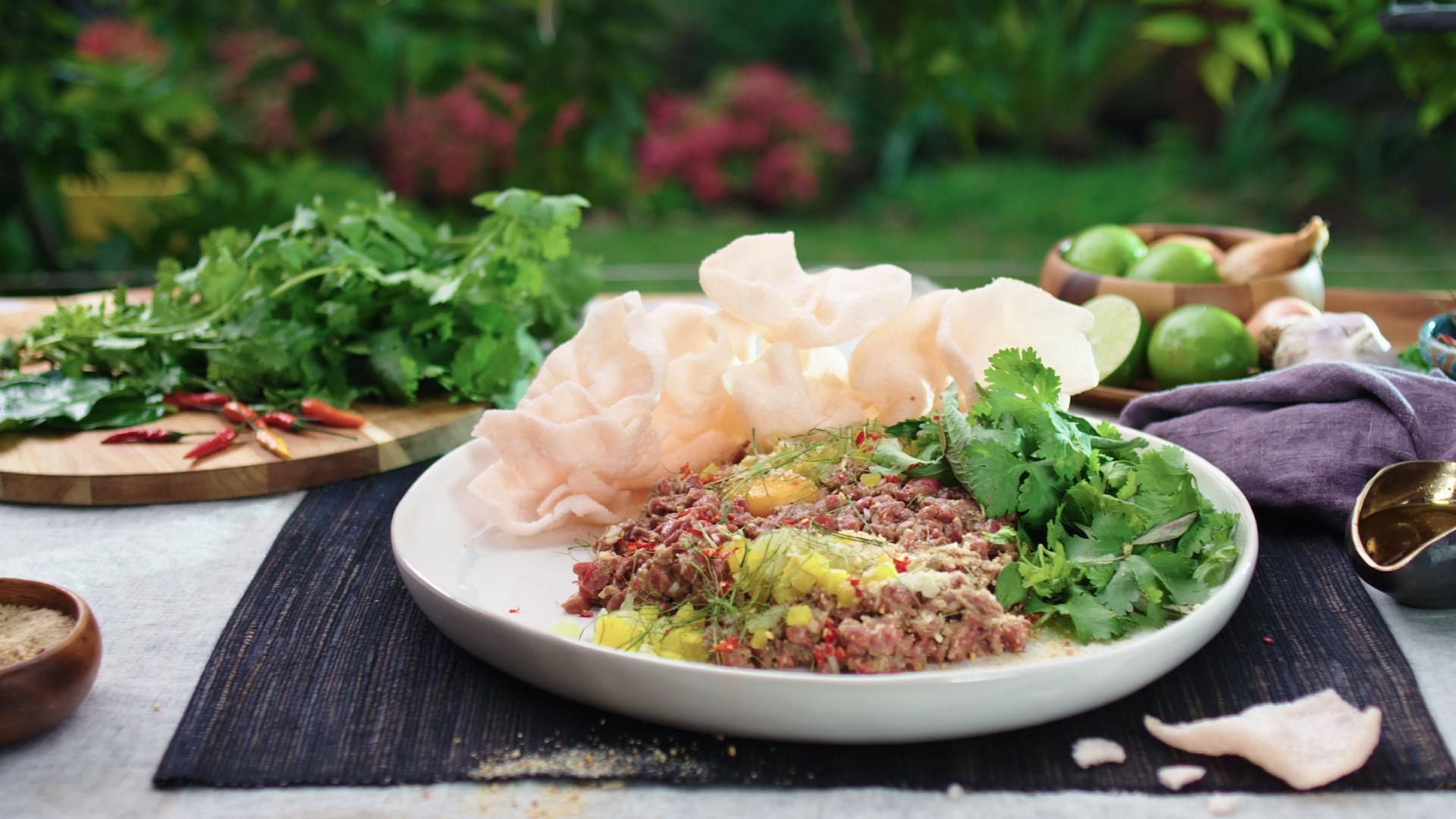 Vietnamese-style Steak Tartare
