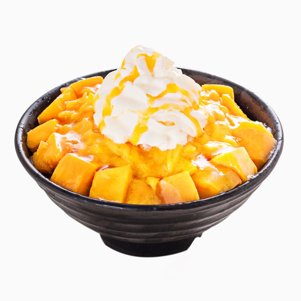 Peach Bingsu