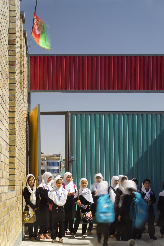 Goharkhatoon Girl School Door@Nic Lehoux.jpg