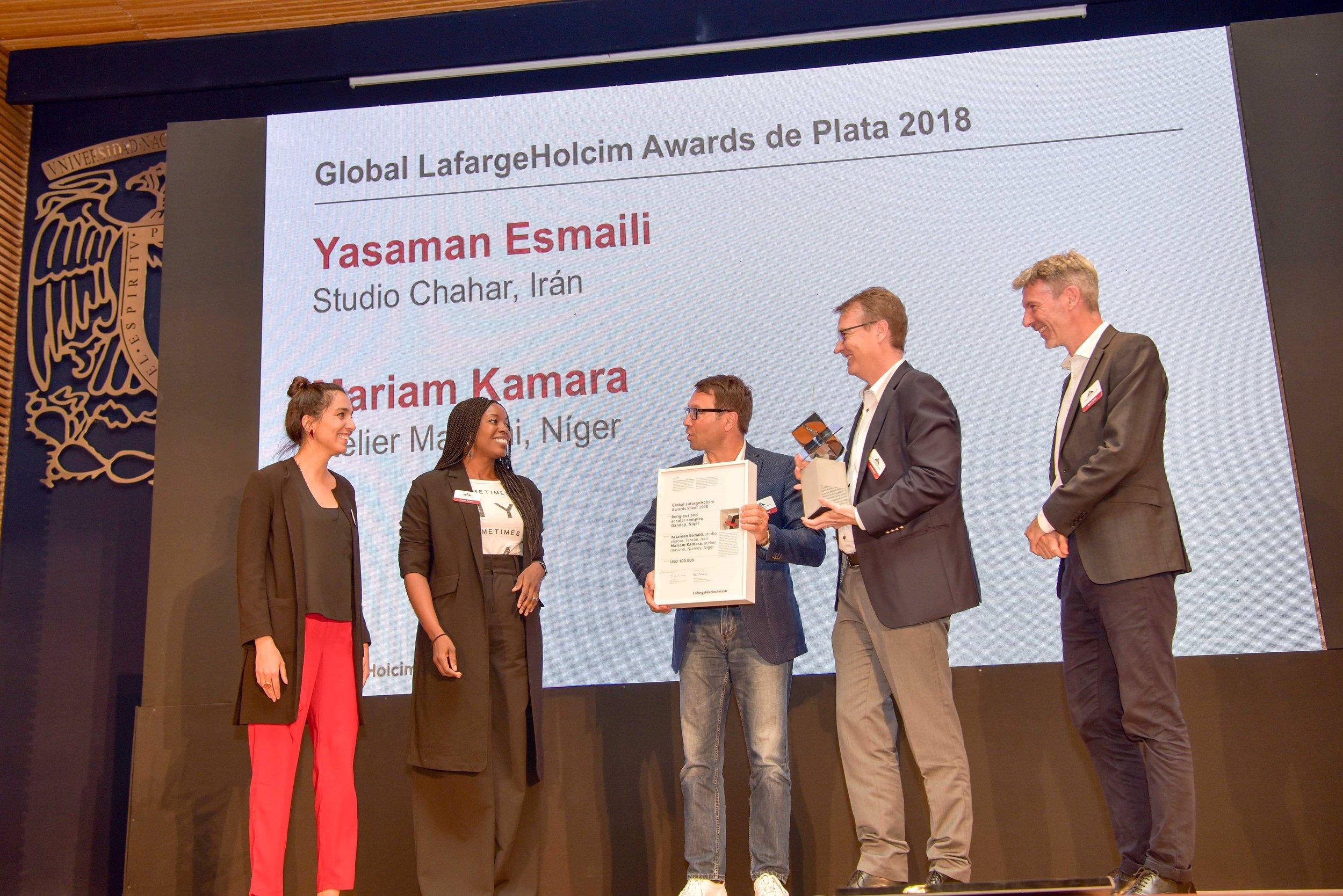 2018 LafargeHolcim Global Silver award
