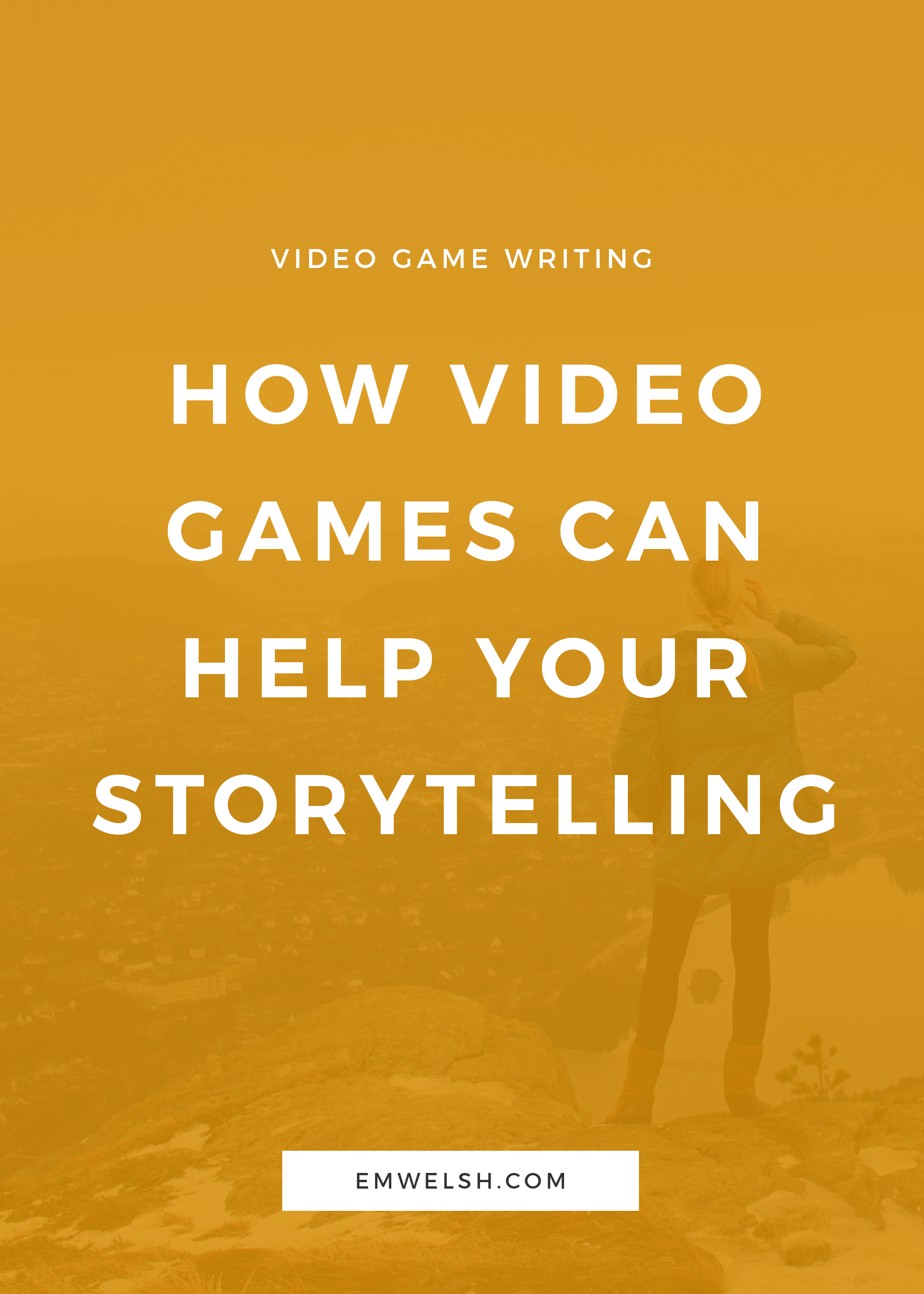 Video Games and Storytelling - REBRAND