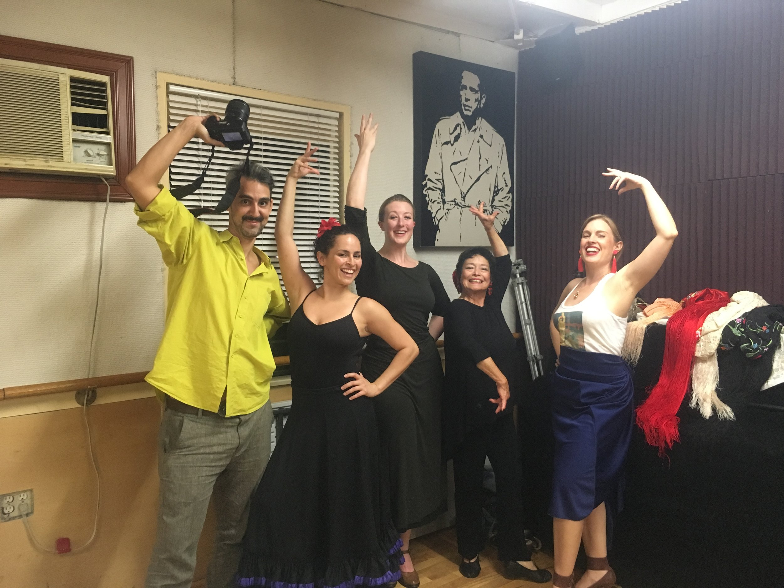 Flamenco class is fun!