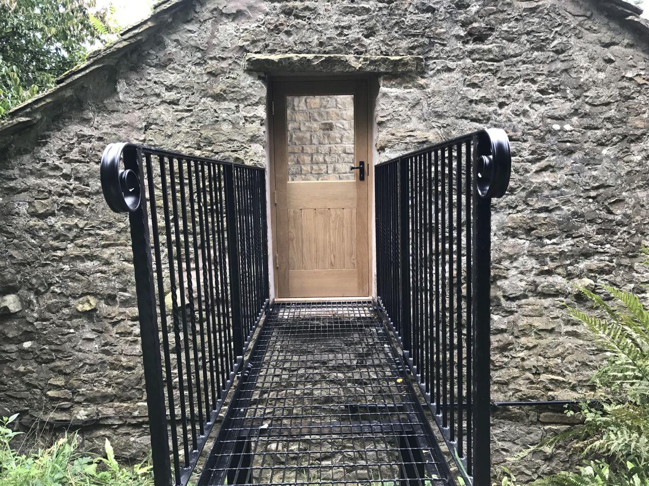 Nook door and walkway completed.jpg