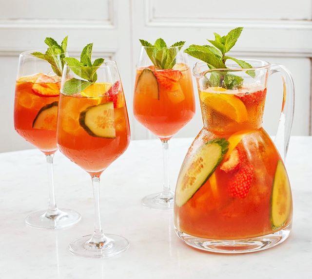 Pimms brunch cocktails. Yes please. #pimmsbrunch