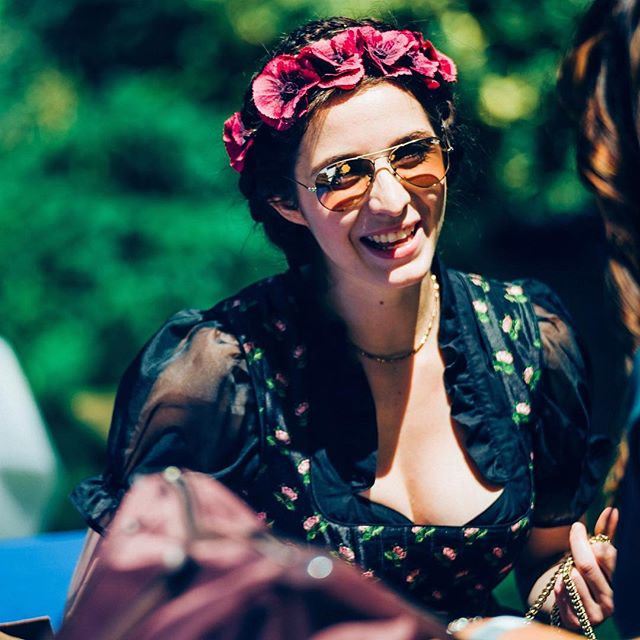 Ladies of the Olympiad Part 2. A most glorious day out for the vintage-lovers, the floral-crowned bohemians and the purveyors of old-school eleganza (of all eras). Photo by @hanson_leatherby_photography at #chapolympiad 2016.