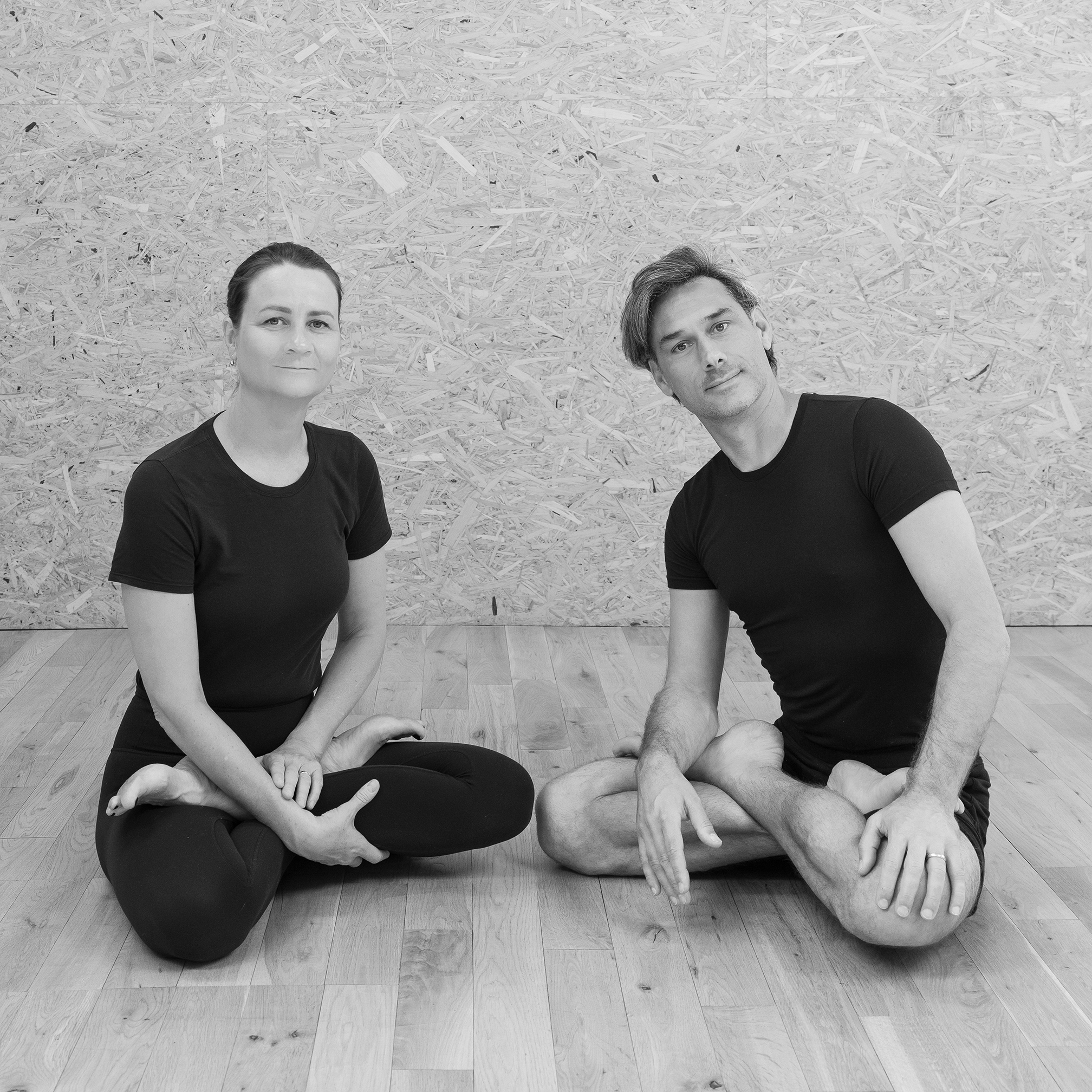 Charlie Taylor-Rugman Alice Taylor-Rugman Private one-to-one yoga classes in London sitting