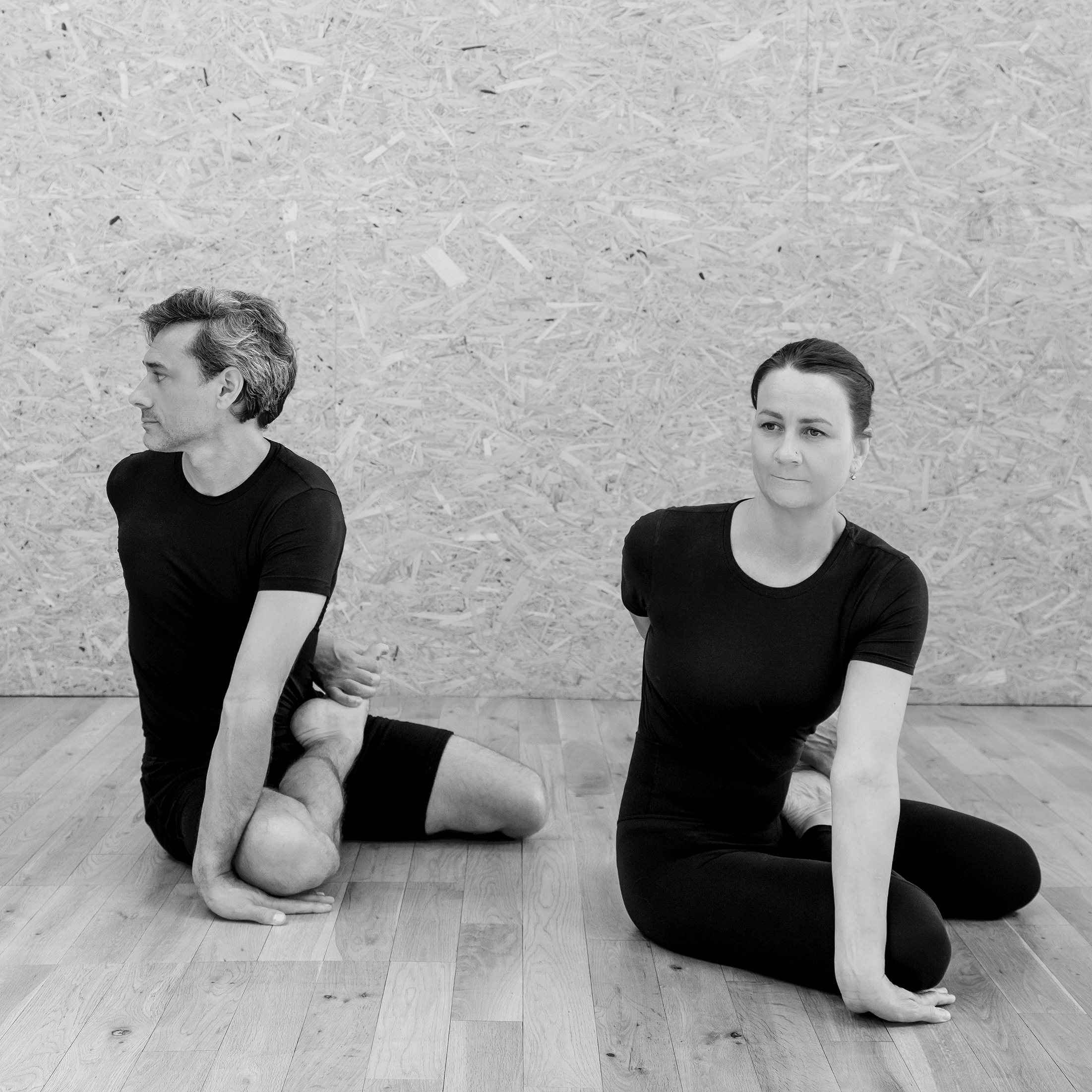 Charlie Taylor-Rugman Alice Taylor-Rugman Private one-to-one yoga classes in London Testimonials Bharadvajrasana pose