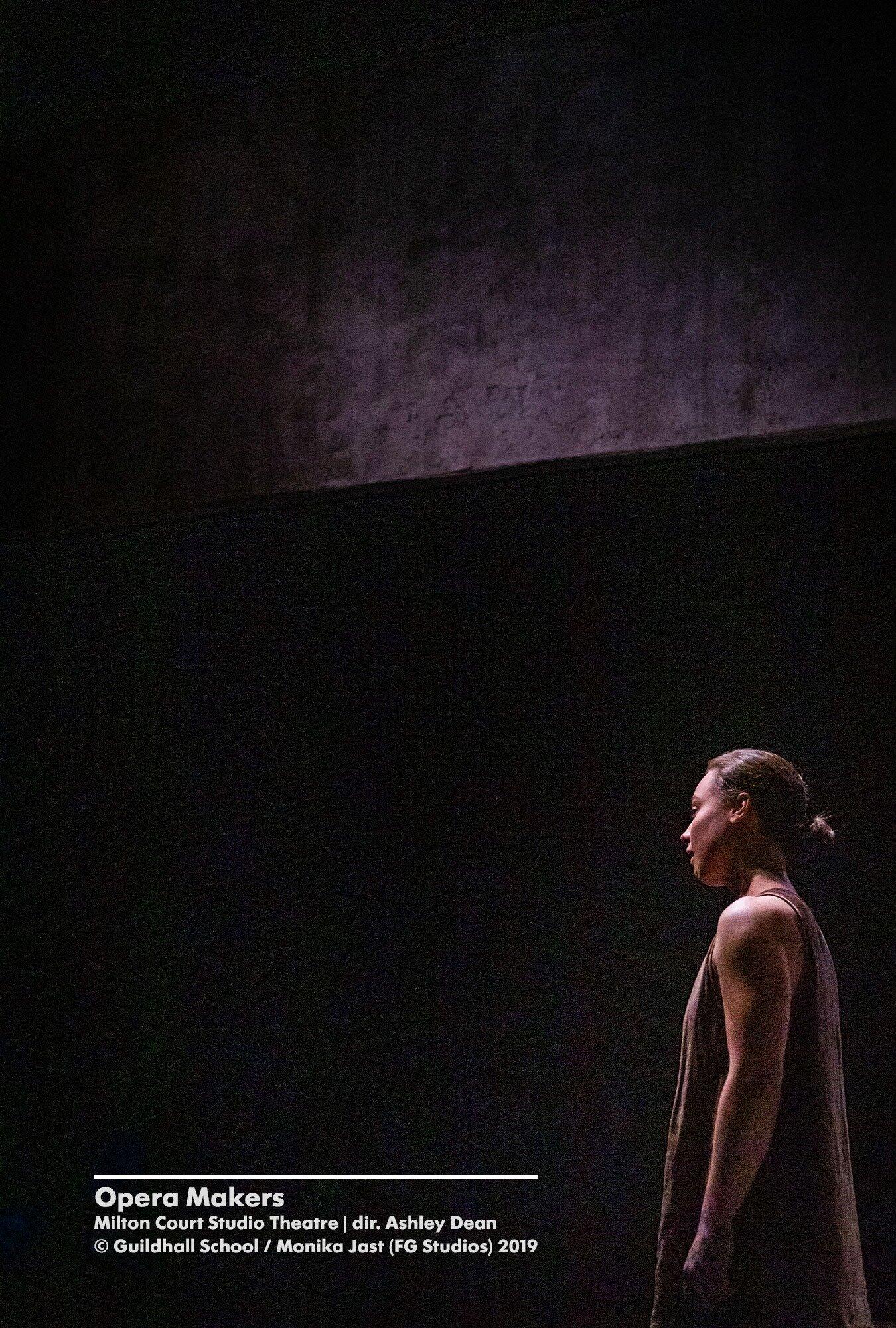 Lara Müller  © Guildhall School : Monika Jast (FG Studios) 2019  'Opera Makers', Guildhall School of Music & Drama, Milton Court Studio Theatre.jpg