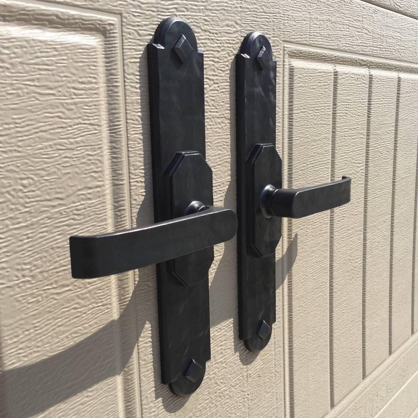 """Maple Creek Magnetic 11"""" Handles - Decorative Garage Door Hardware"""