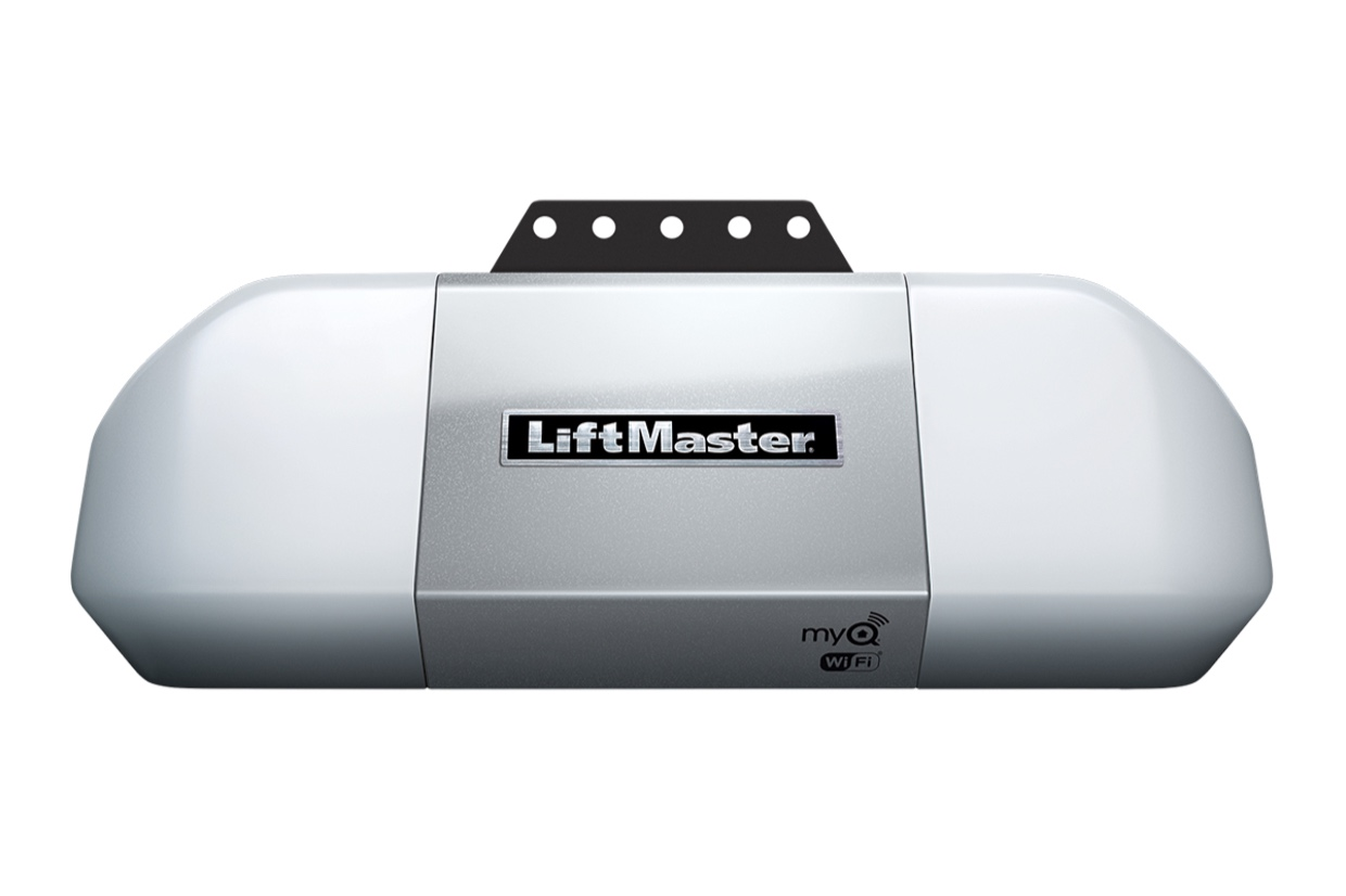 LiftMaster 8355W - Smartphone Control with Built-in Wi-FiFeatures belt drive system for smooth performanceIncludes two remotes and one outside keypad7ft Belt Drive: $499 Installed8ft Belt Drive: $549 Installed