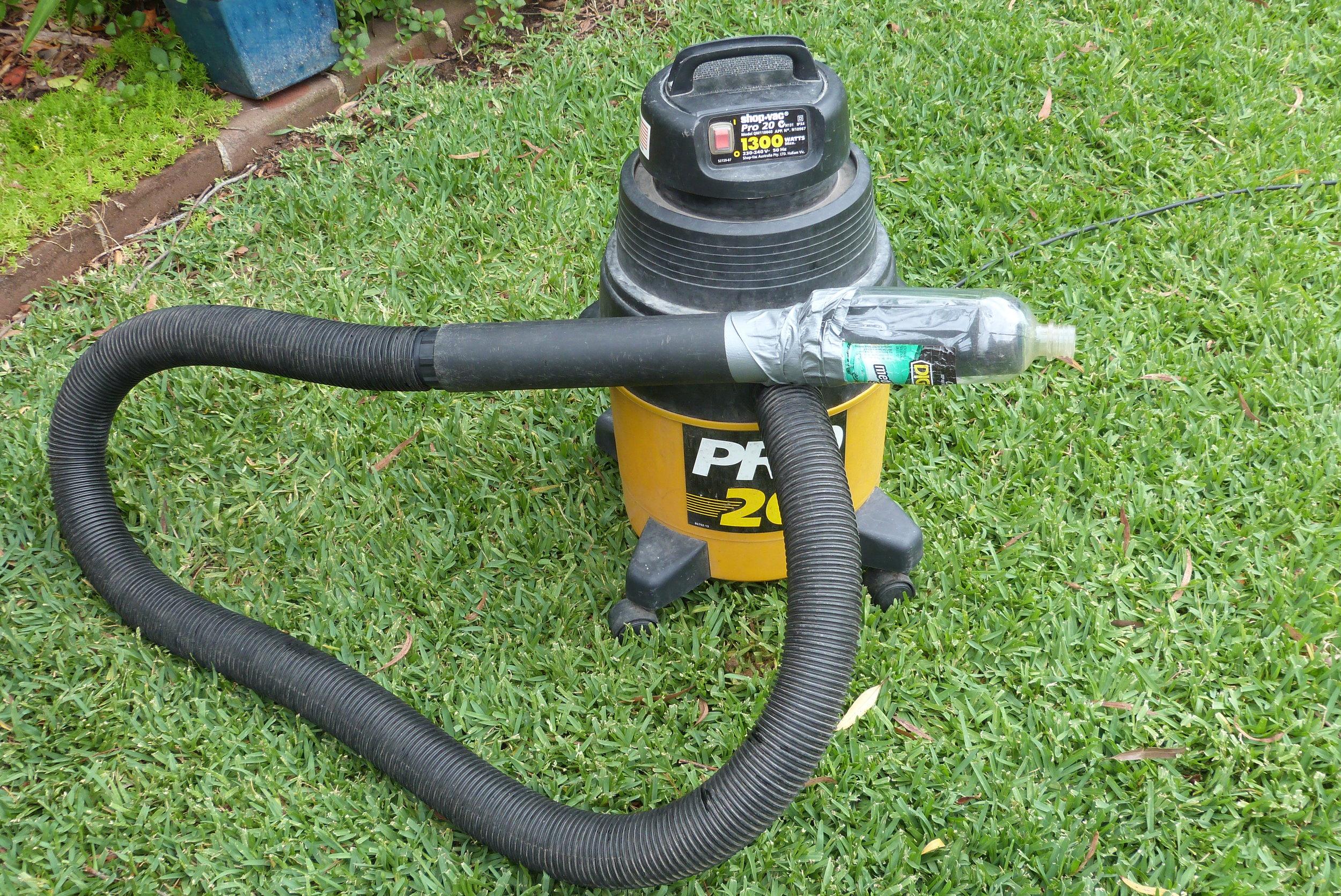 Modified Vacuum Cleaner