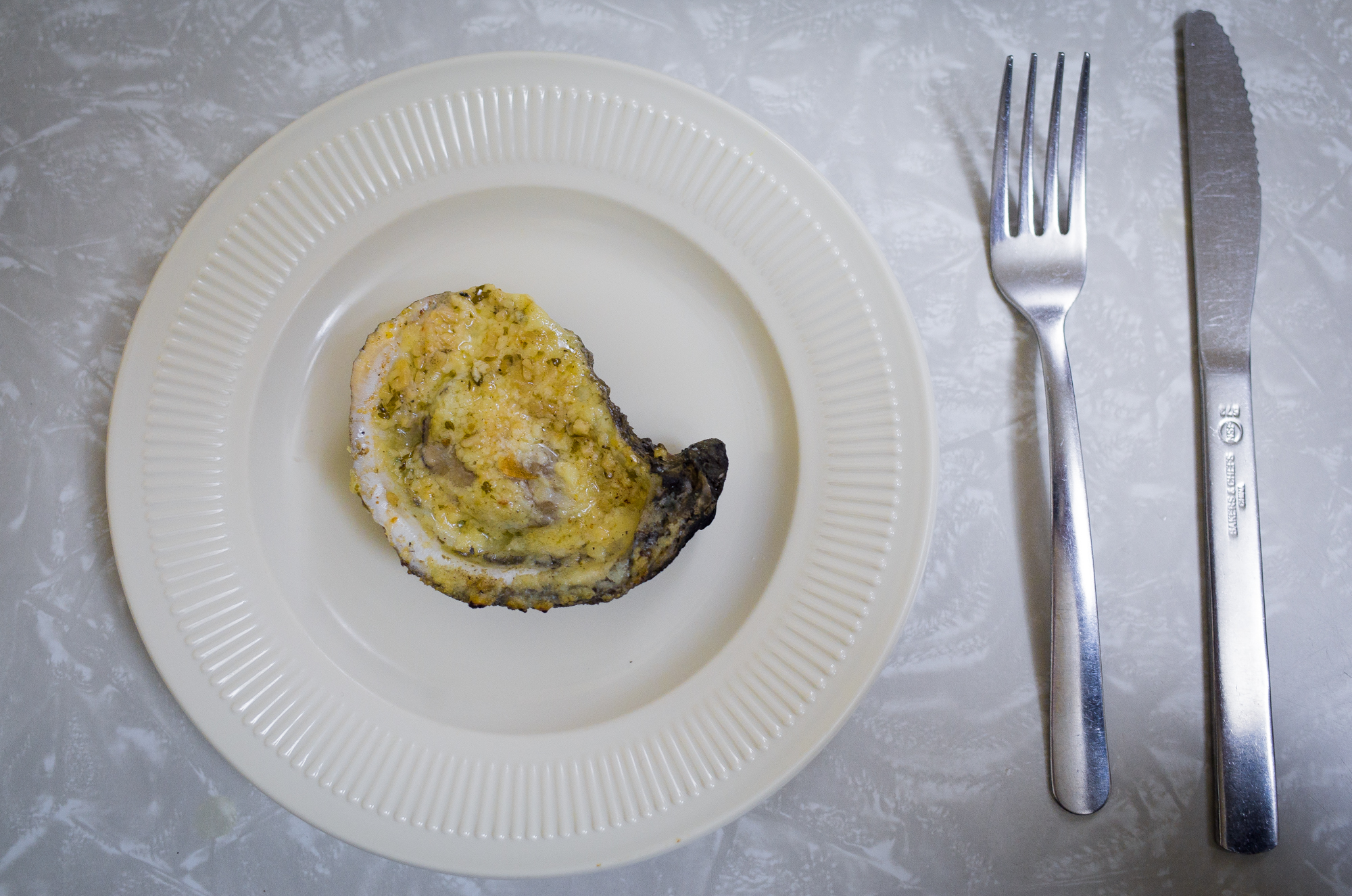 Chargrilled Oyster