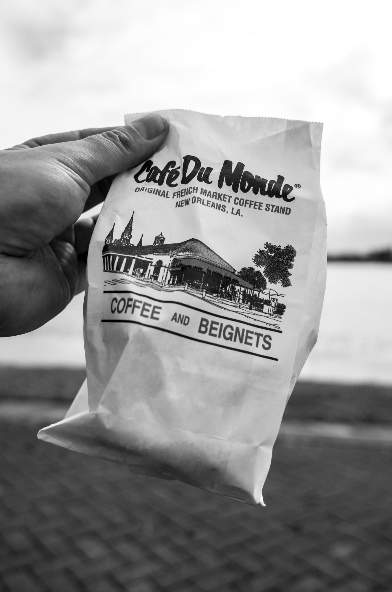 Beignets on the Mississippi