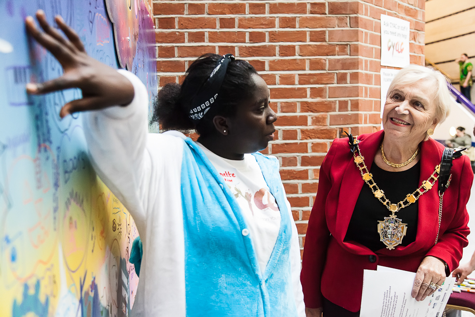 Meet annie - I joined CYAC after I took part in a youth consultation in 2015. A reason I joined was because I wanted to make more art opportunities available for the youths in Croydon. I am gradually watching Croydon develop positively and raise the profile of the arts; and ensuring young peoples' voices are at the heart of our decision making.