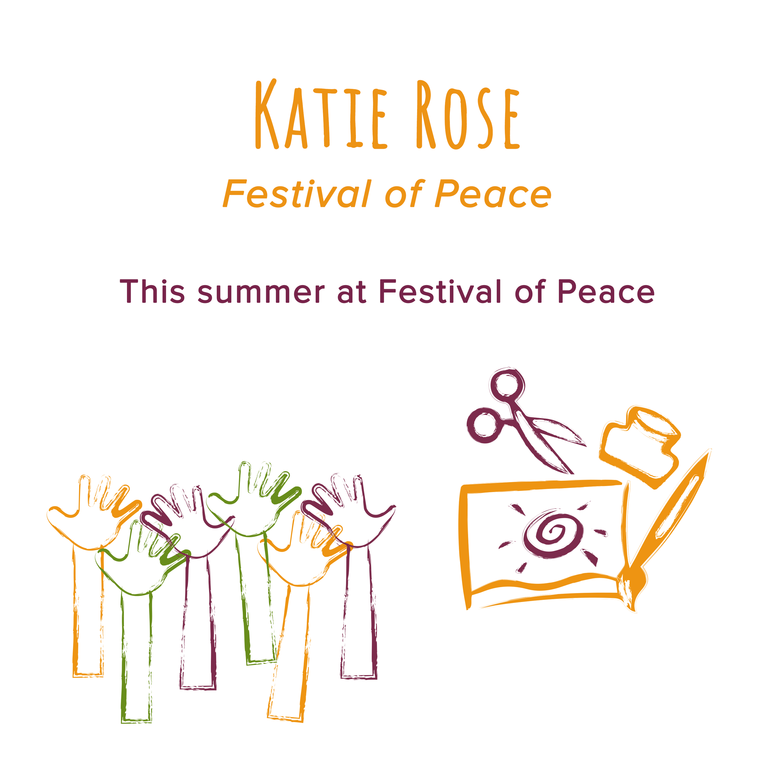 March 2018   Katie is involving young people in the Festival of Peace by:  - Inviting them to take part in the London Mozart Players community performances  - Vocal Rumble; a workshop & performance opportunity with world class vocal artists  - Young People Insight - The Kickback; a forum about peace  - Celebrate Life & APOW; young refugee group to hold an event about peace and belonging