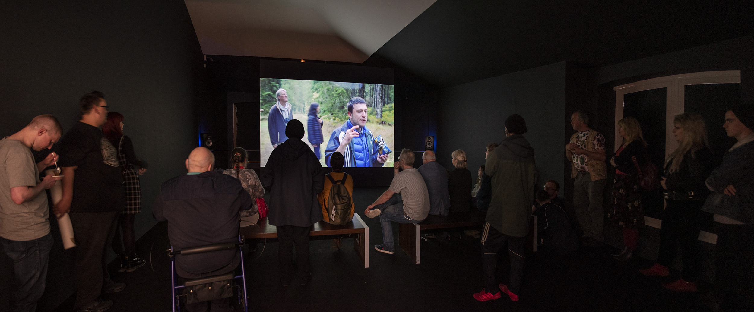 Illuminating the Wilderness film at Tate Liverpool, 2019, Project Art Works