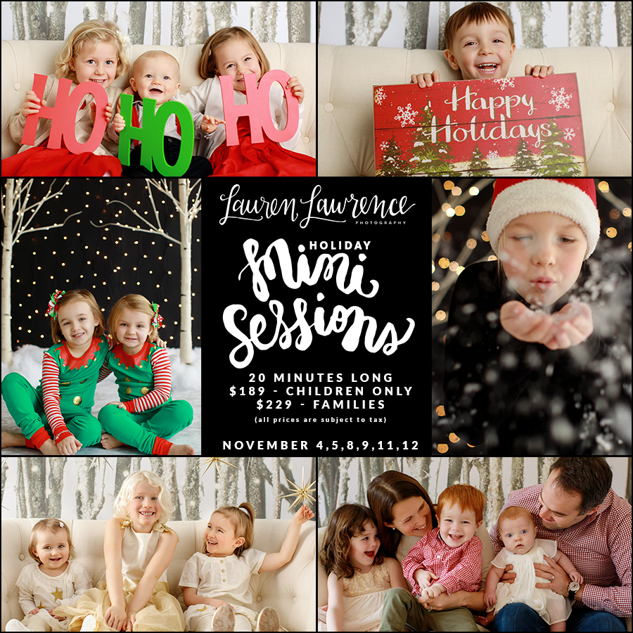 Toronto Holiday Christmas Mini Sessions