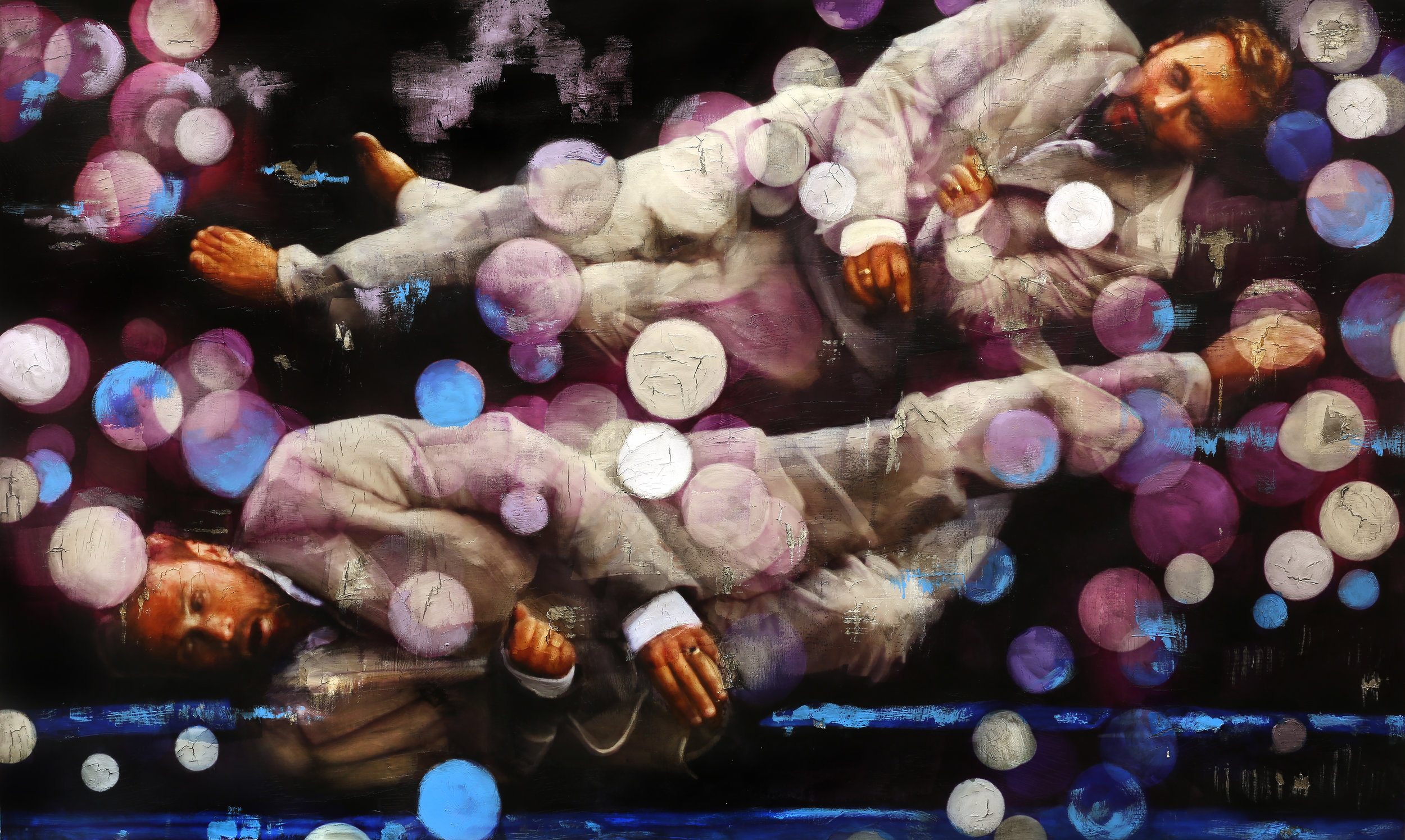PerFronth.2016.Gravity.Bubbles.Markers.DillonLee.ArtMiami.78x47in.jpg