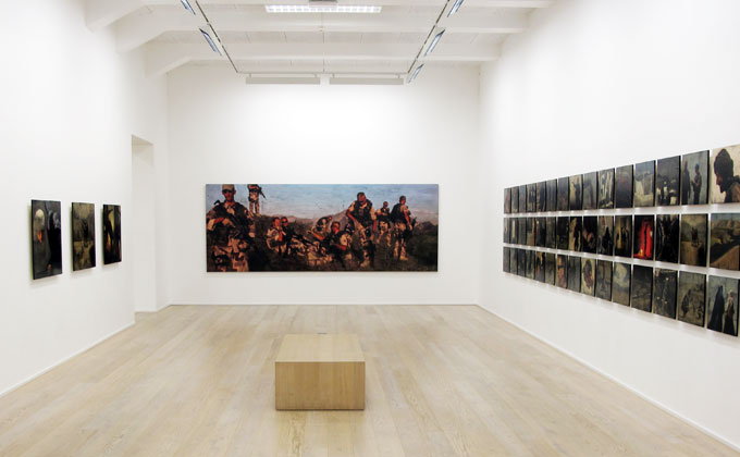 Installation view:  Theatre of War  Galleri Trafo / Oslo / Nov 2009