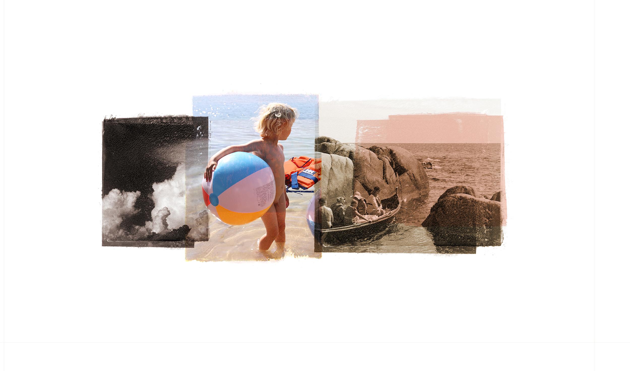 Buoyancy / Horizon (Archipelago)  Original Archival UV Pigment Print / BFK Rives 250 gr 20 x 10 cm / 7,8 x 4 in Edition of 90 + 15 Ap Editeur: Per Fronth Studios / Printer Henrik Aunevik Commission: Sparebanken Sør  14/2016: