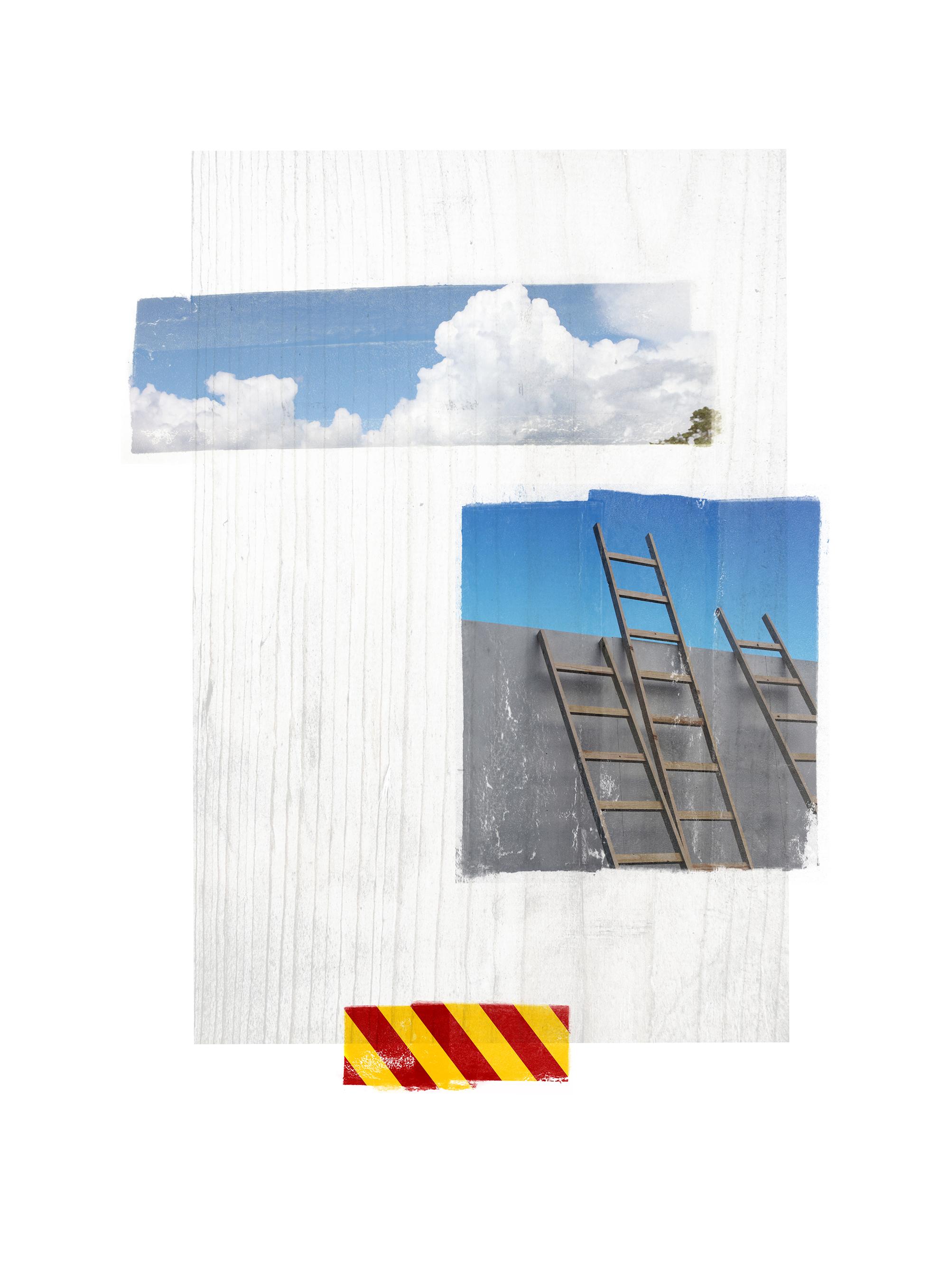 Venia / Cumulus  Original pigment print / BFK rives 250 gr 25 x 35 cm / 13,7 x 10 in Edition of 50 + 7 Ap Editeur: Per Fronth Studios / Henrik Aunevik  11/2014: