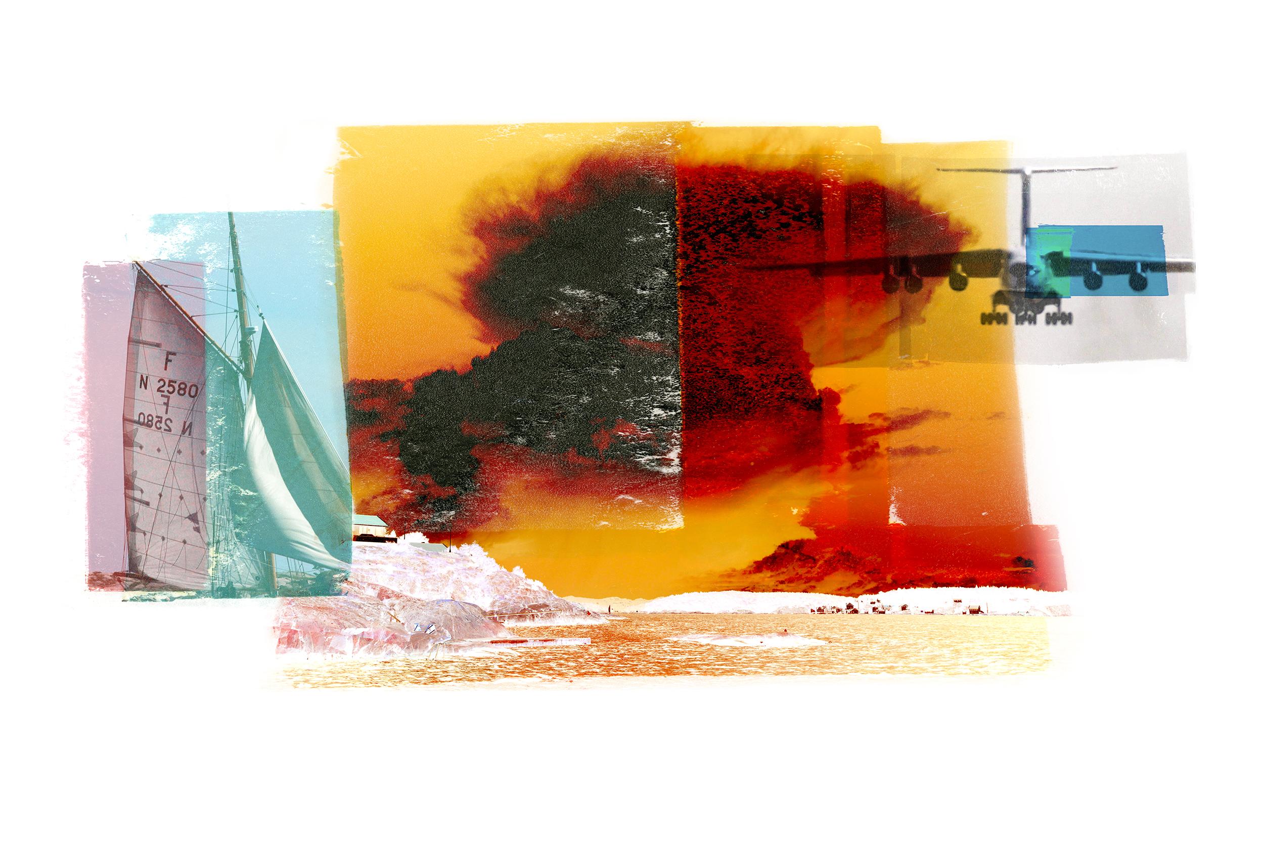 Red Cumulus / Antonov (Borøya)  Original pigment print / BFK rives 250 gr 120x 80 cm / 47 x 32 in Edition of 35 + 7 Ap Editeur: Per Fronth Studios / Henrik Aunevik  15/2014: