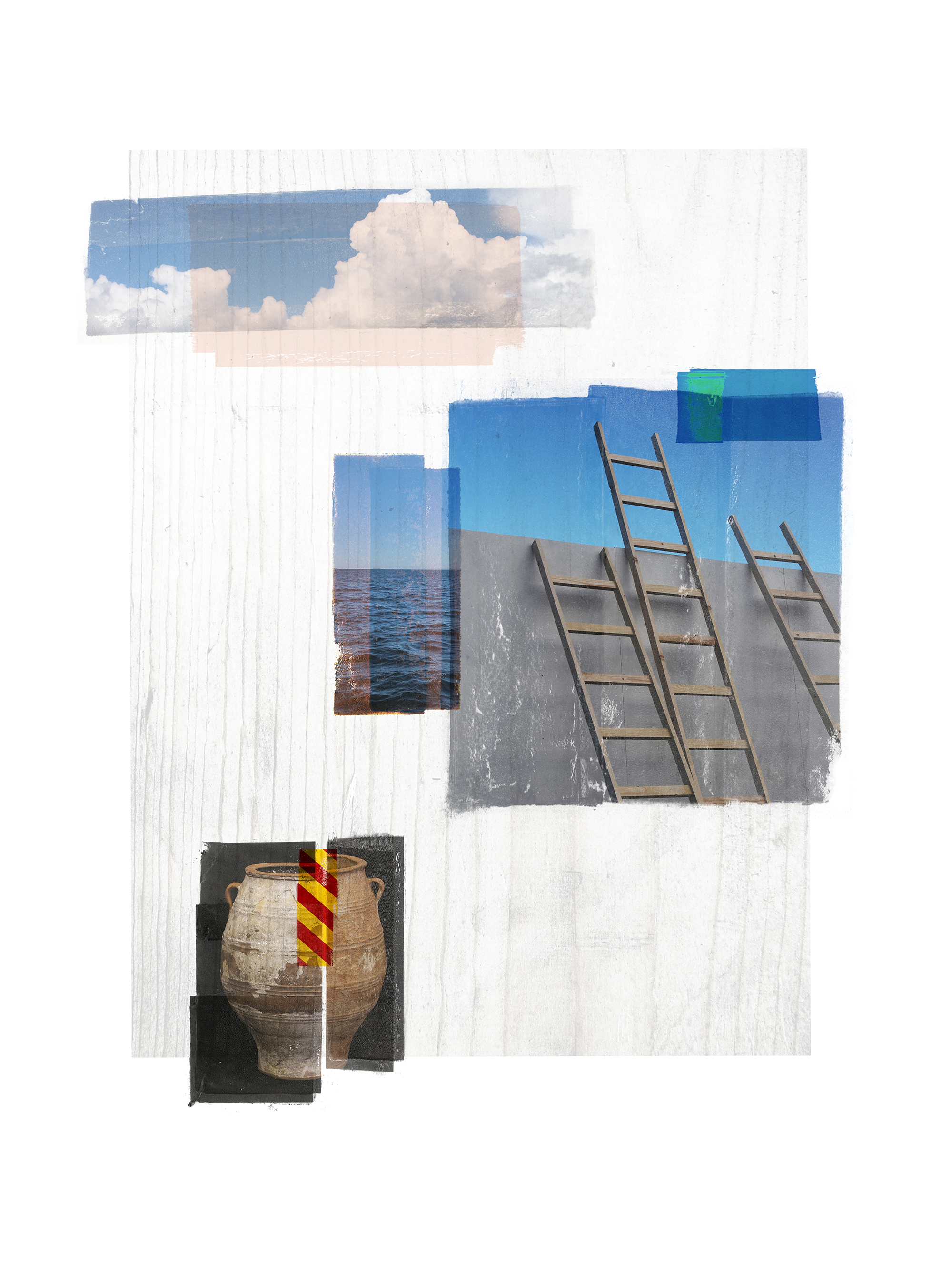Sarepta / Venia / ver II  Original pigment print / BFK rives 250 gr 120 x 80 / 47 x 32 in Edition of 35 + 7 Ap Editeur: Per Fronth Studios / Henrik Aunevik  25/2014: