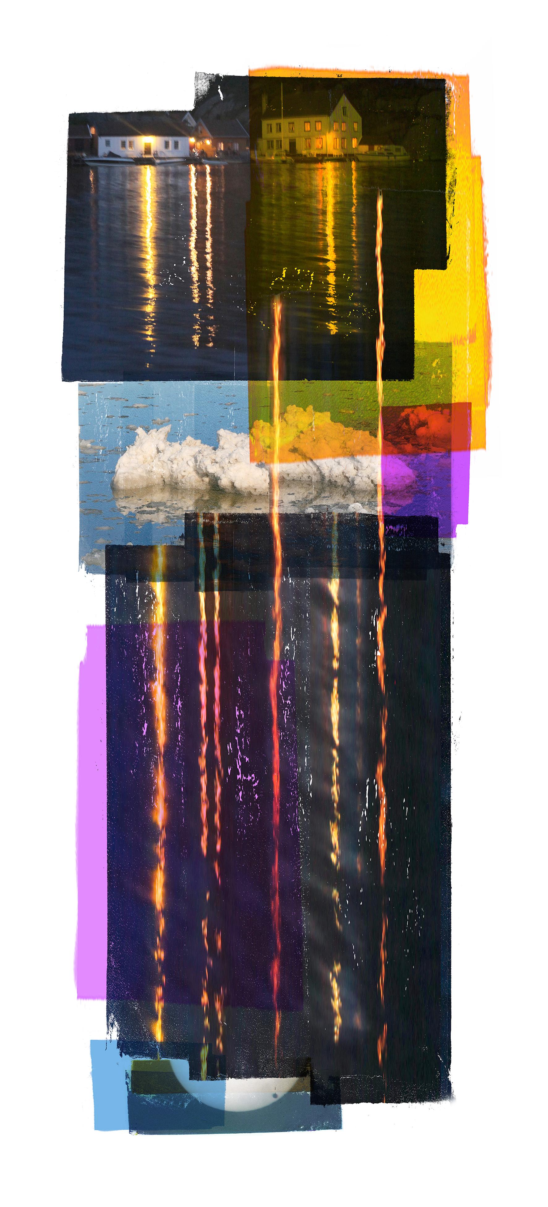 Time & Reflection / Venus Passage   Original pigment print / BFK rives 250 gr 120 x 60 cm / 47 x 23 in Edition of 50 + 7 Ap Editeur: Per Fronth Studios / Henrik Aunevik  27/2014: