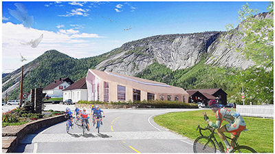 Valle Bibliotek & Kyrkjestove / Svensson Architects / 2018