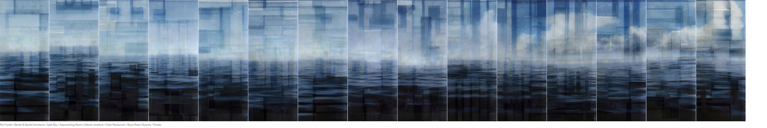 Per Fronth / Bentel & Bentel Architects / Split Sky / Approaching Storm ( Atlantic Timeline ) / Cielo Resturant / Boca Raton Resorts / Florida