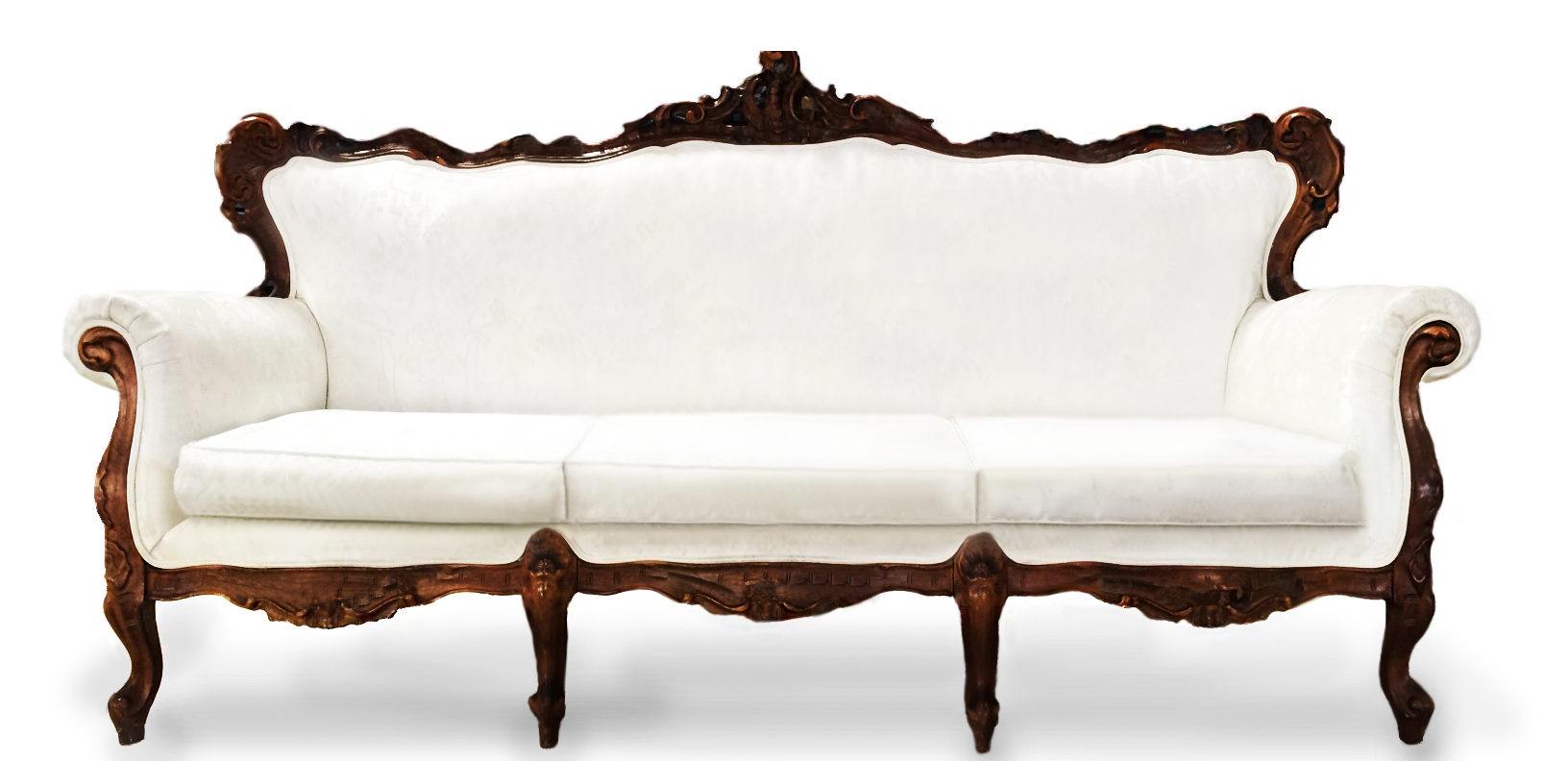 Upholstered Venetian Couch