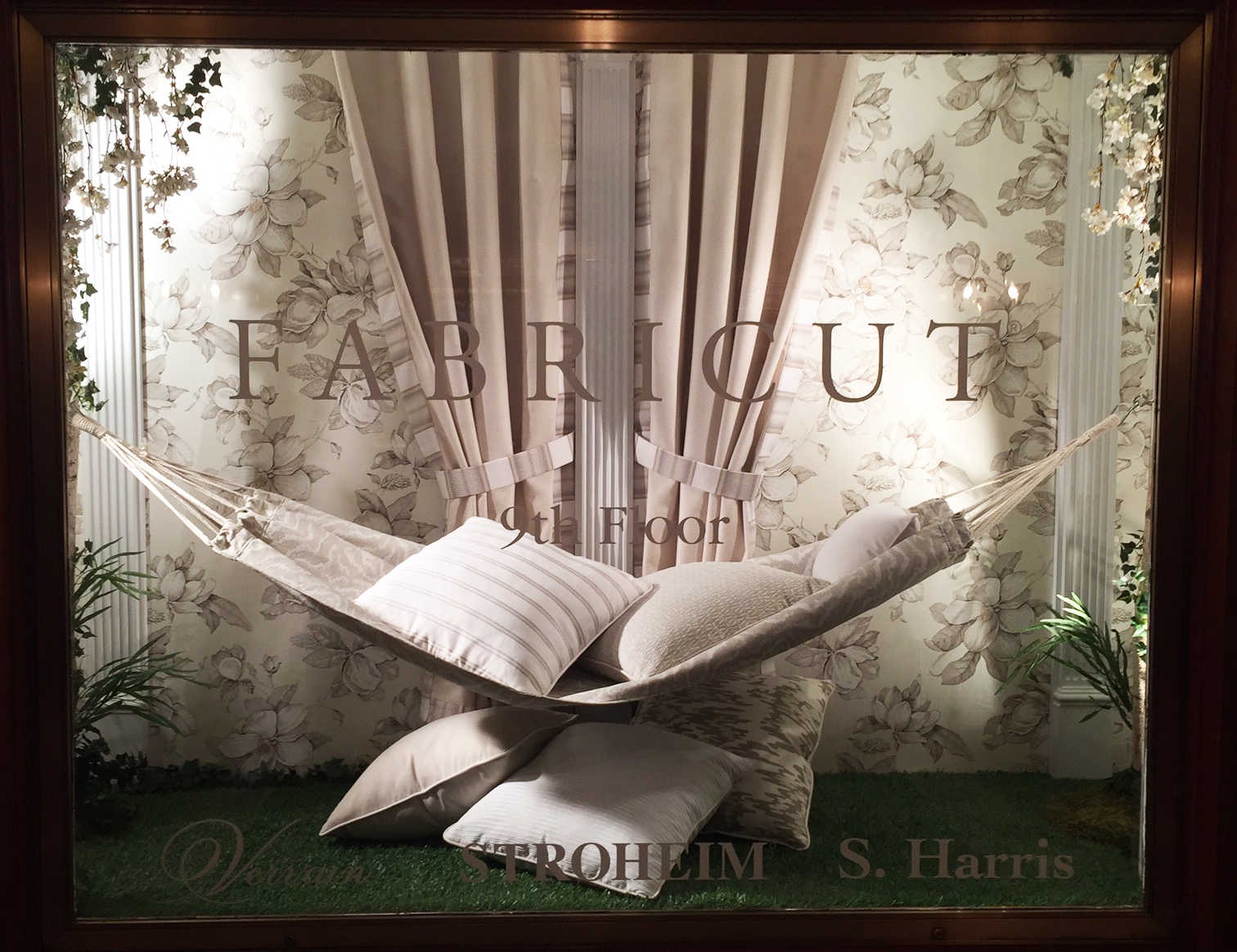 Pillows, Hammock & Curtains for Fabricut, Sewing & Installation