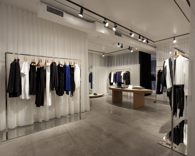 Fitting Room and Divider Curtains, Sewing & Installation