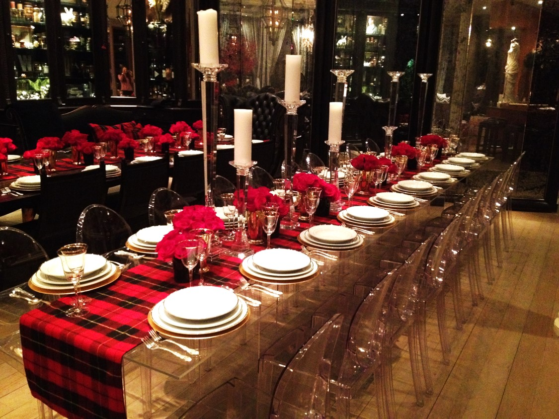 Custom Holiday Table Runners