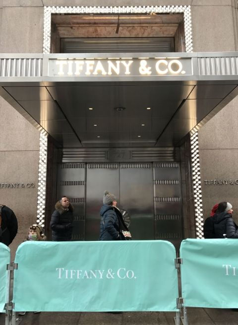 Barricade Covers For Tiffany